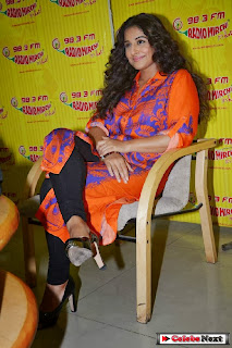 Vidya Balan Latest Pictures at Radio Mirchi 98.3 Promotes Shaadi Ke Side Effects