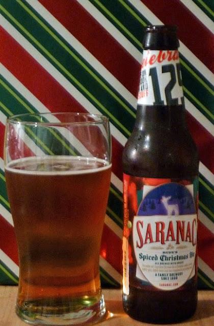 Matt Brewing Company (Saranac Brewery) Rudy's Spiced Christmas Ale