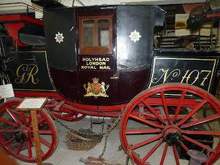 Royal Mail coach at Red House Stables Carriage Museum