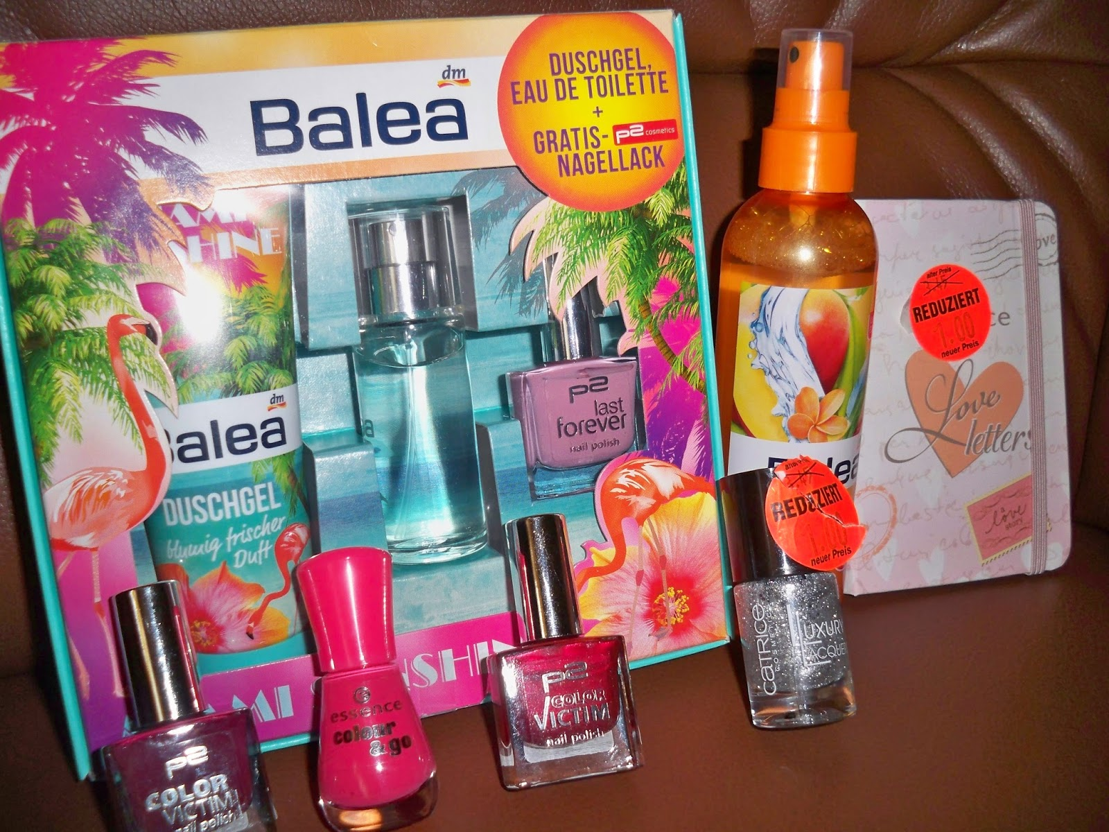 Beauty Fashion And Whatever DM Haul - Balea Essence P2 Catrice