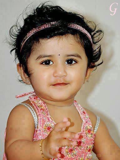 Cute Smile Face Girls Baby Pictures