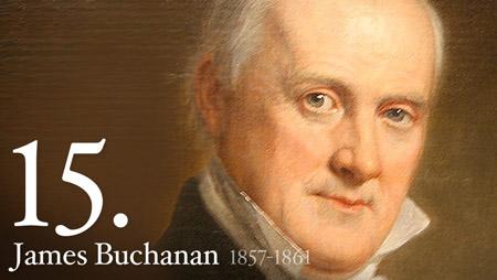 JAMES BUCHANAN 1857-1861