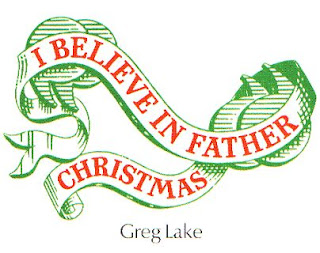 i believe in father christmas  greg lake
