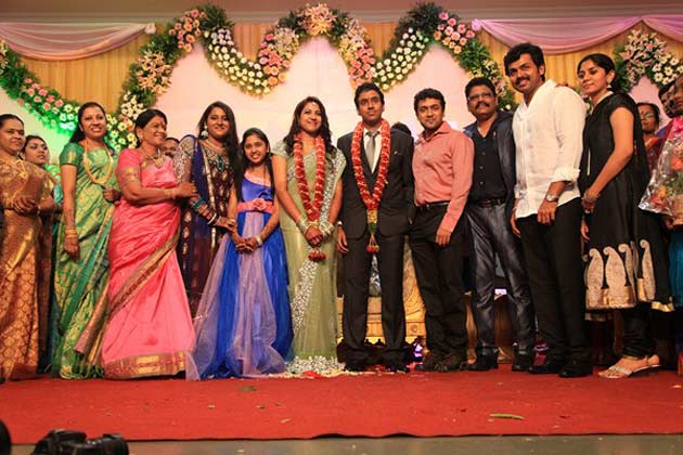 Director K.S.Ravikumar daughter marriage album