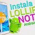 Instala Android 5.0 Lollipop en tu Galaxy Note 3 OFICIAL