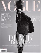 Chanel Iman on the cover of Vogue
