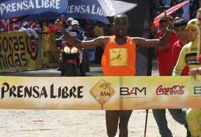 Resultados Medio Maratón Cobán 2012