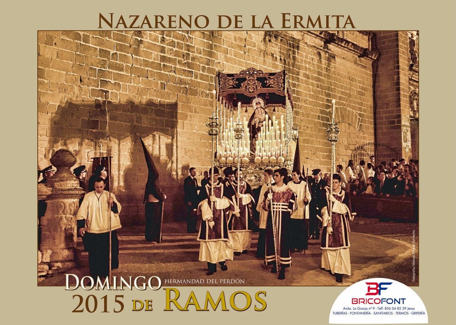 Cartel Nazareno de la Ermita 2015