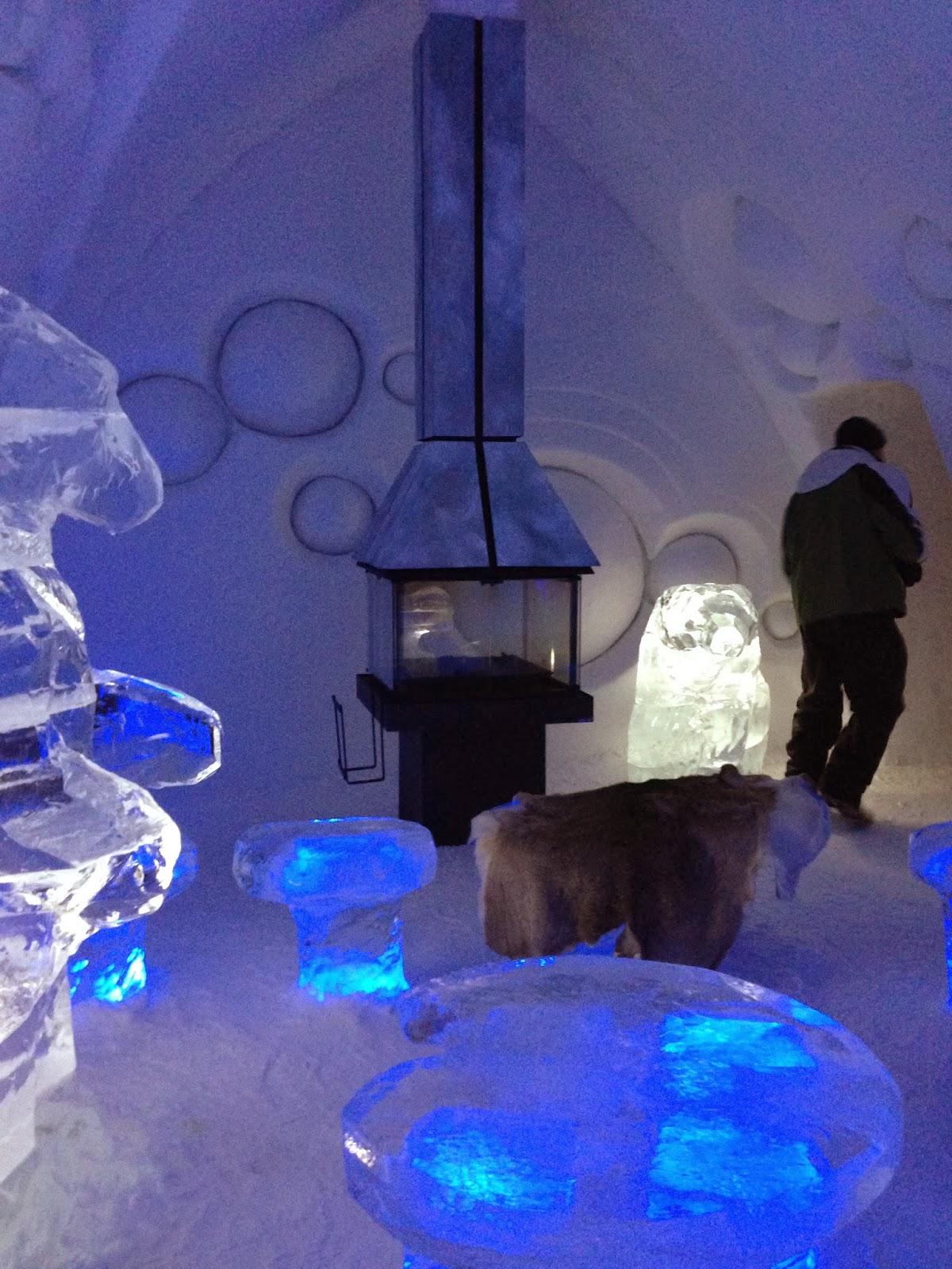 Hotel De Glace ice suite