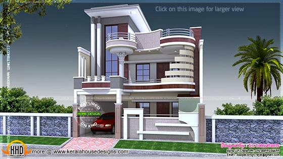 Modern decorative house