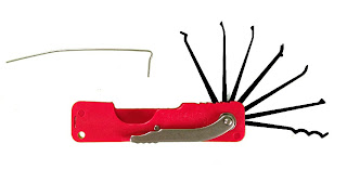 DAKOTA Folding Lock Pick Set