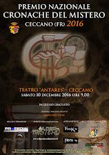 PREMIO NAZIONALE CRONACHE DEL MISTERO 2016