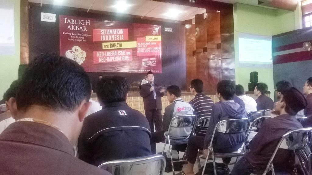 Khilafah Menyelamatkan Indonesia Dari Bahaya Neoliberalisme dan Neoimperalisme