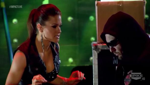 Reporte Impact Wrestling 26-12-2013: Gunner vs Storm Por ... Brooke Tessmacher Aces And Eights