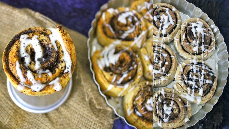 Orange and Chocolate Cinnamon Rolls Recipe