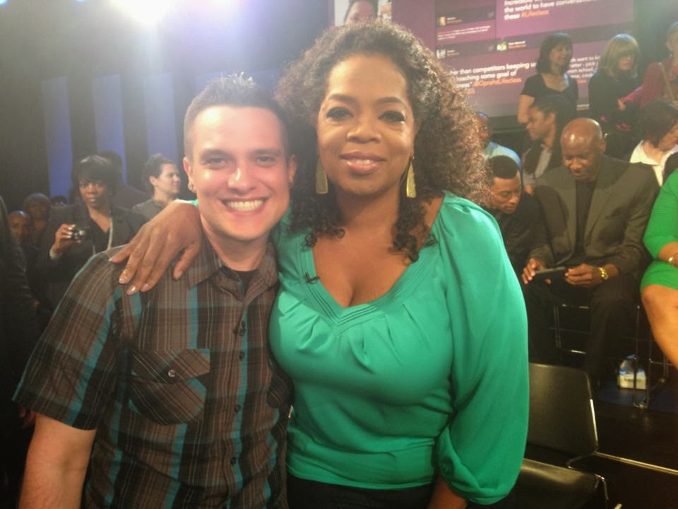 Oprah & Kyle McMahon, Oprah's Lifeclass Fatherless Sons Show #4