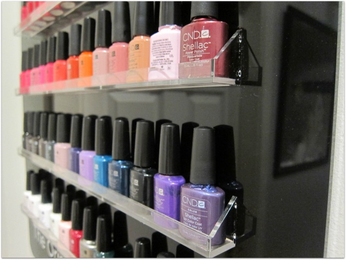 CND Shellac Nail Polish Range at Esthetique Beauty Salon Donabate Dublin