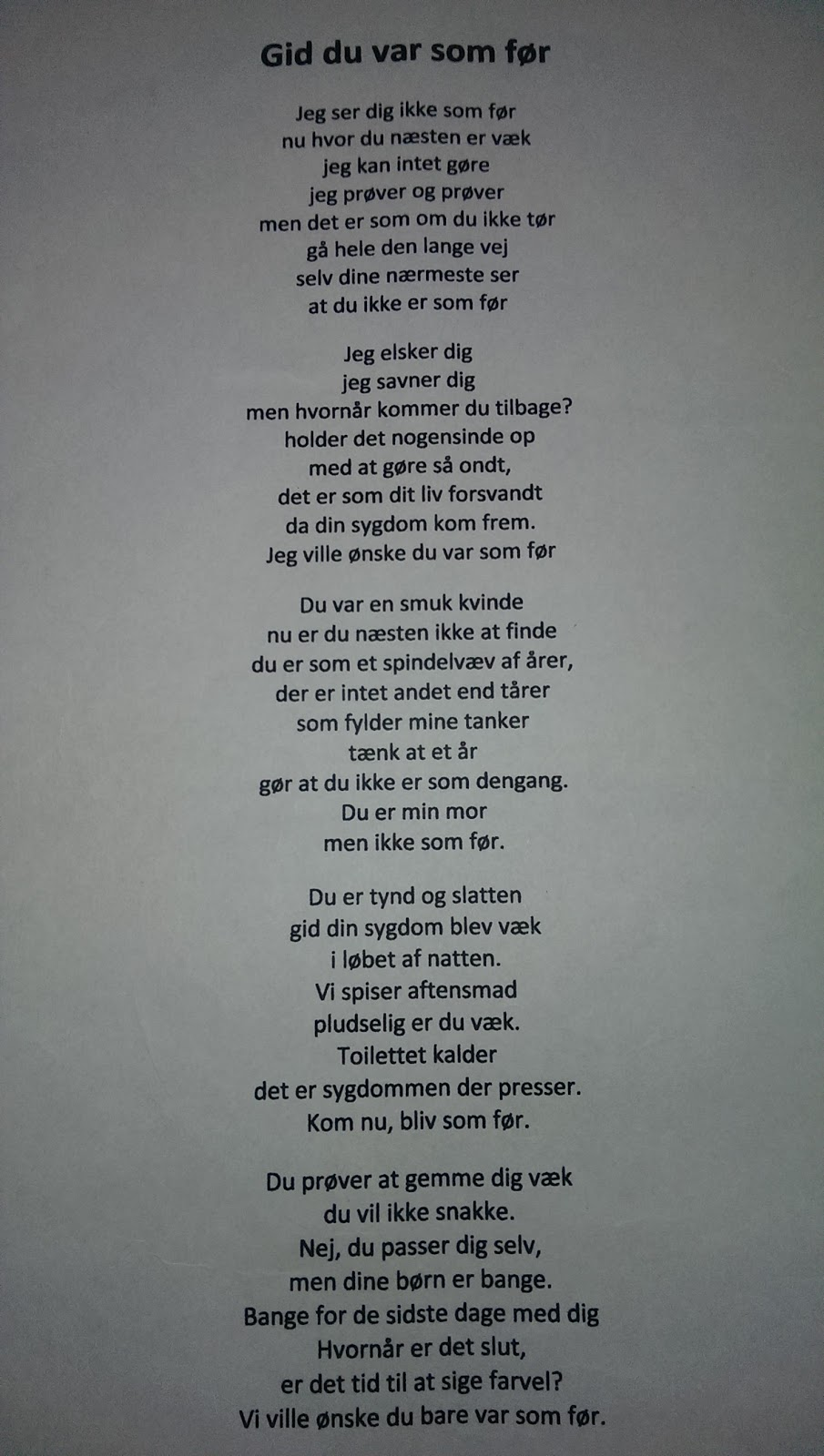 smukke digte til min datter