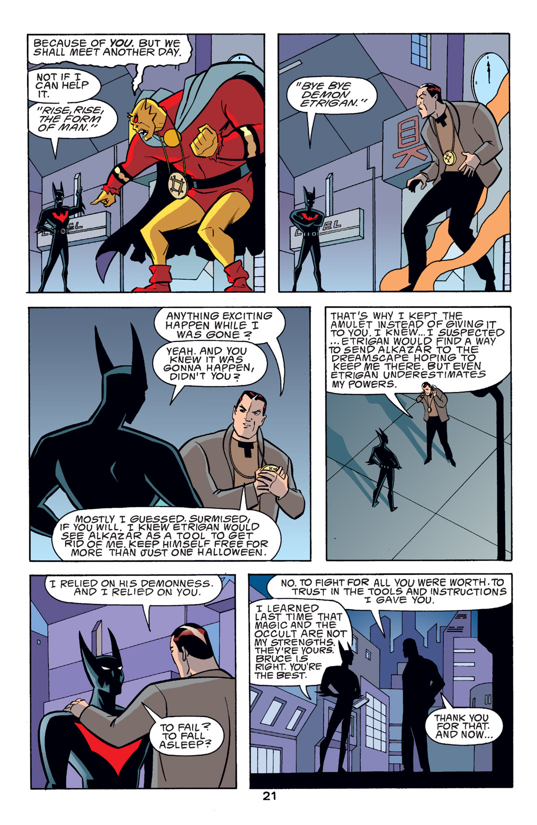 Batman Beyond [II] Issue #14 #14 - English 22