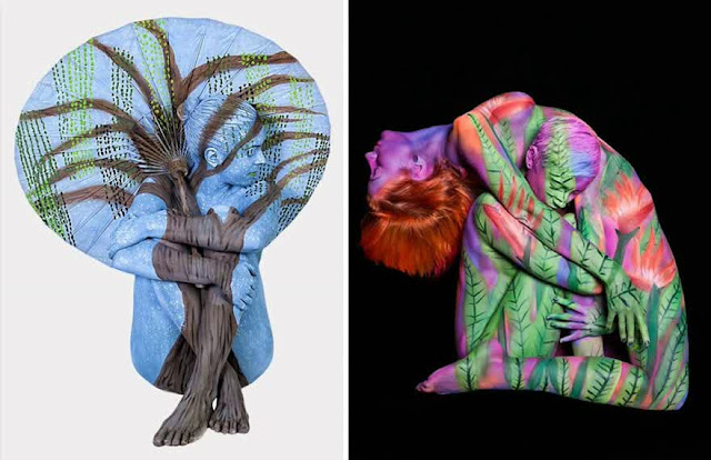 body art illusions by Trina Merry