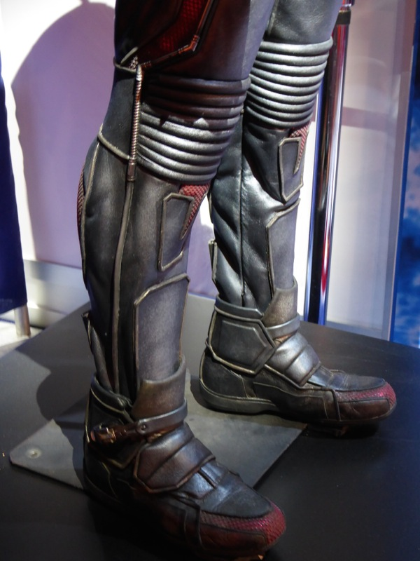 AntMan movie costume boots detail