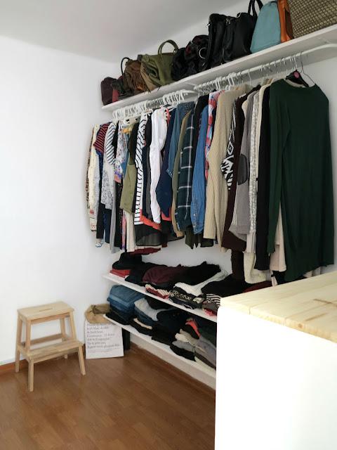 Rocco en mi sofa diy vestidor low cost - Armarios abiertos baratos ...