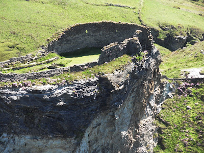 Part of Tintagel Castle