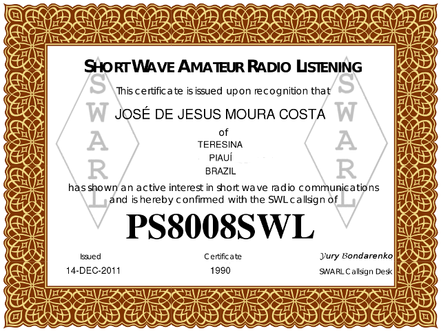 Short Wave Amateur Radio Listening