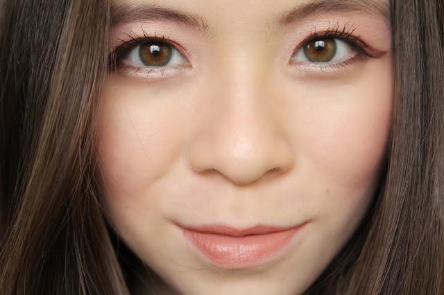 girl face close up