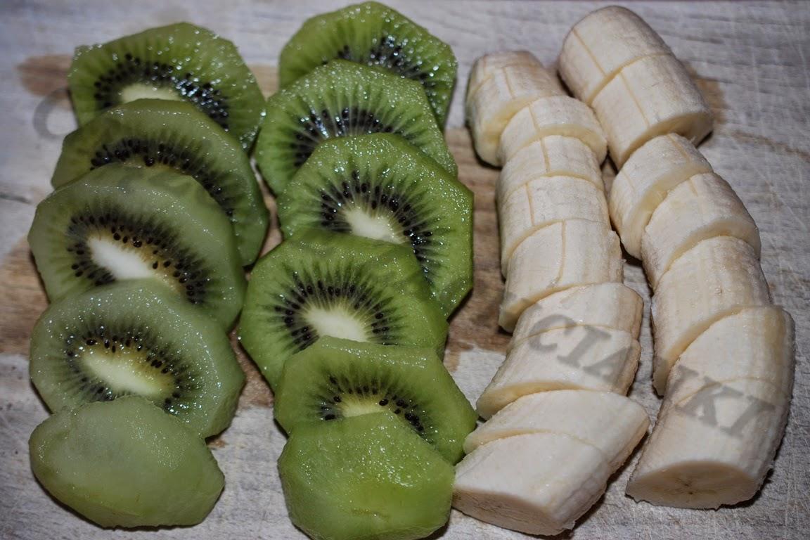Banany i kiwi