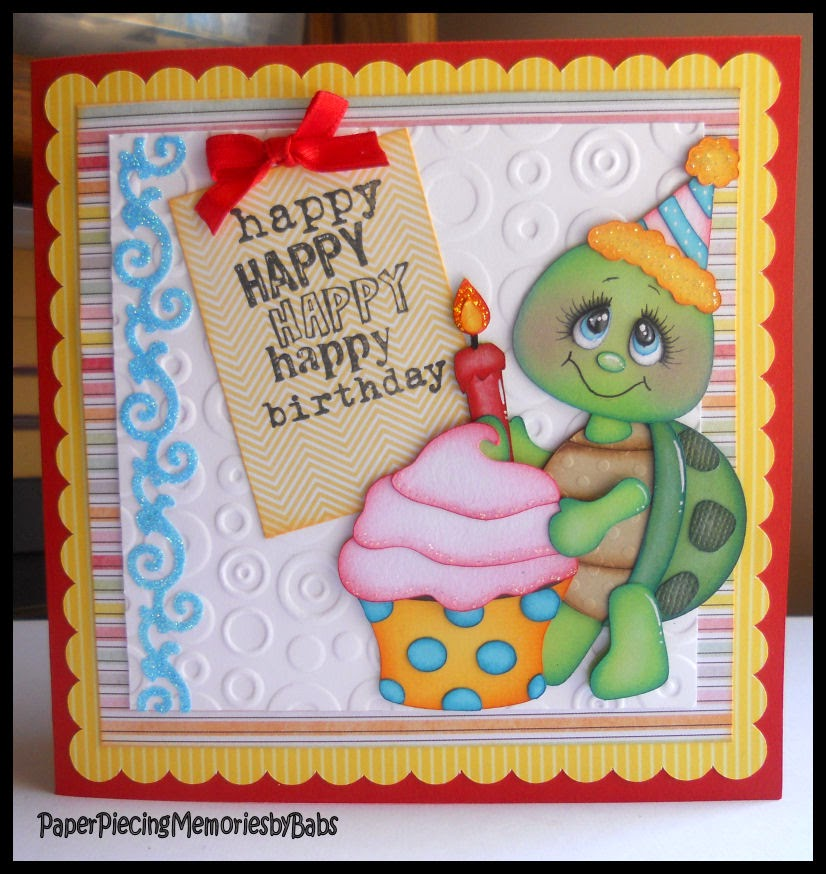 Paper Piecing Memories By Babs Happy St Patricks Day