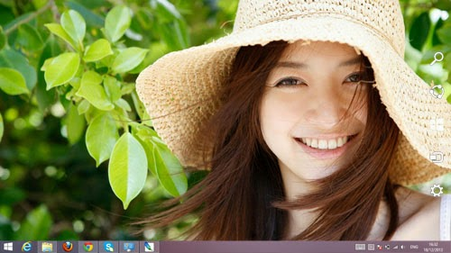 Asian Beauty Girls Theme For Windows 7 And 8 8.1