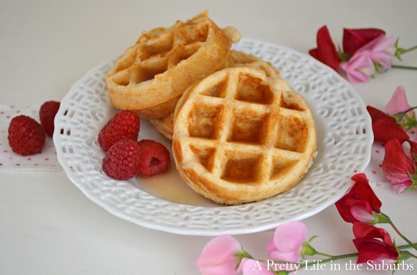 Waffle recipe without eggs