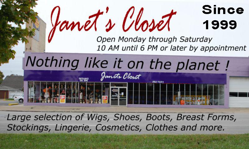 Janet's Closet Blog