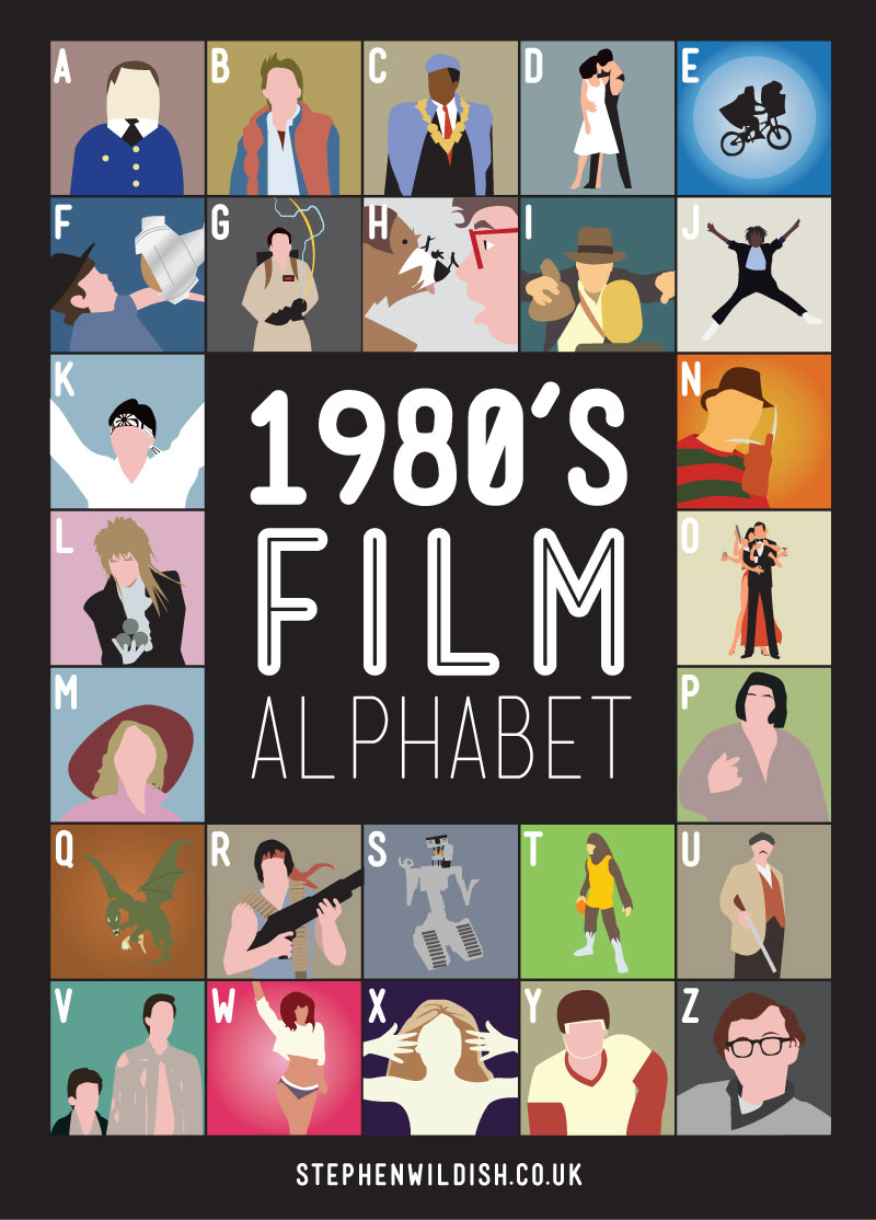 How well do you know 80s and 90s movies? Here's a fun alphabet quiz ...