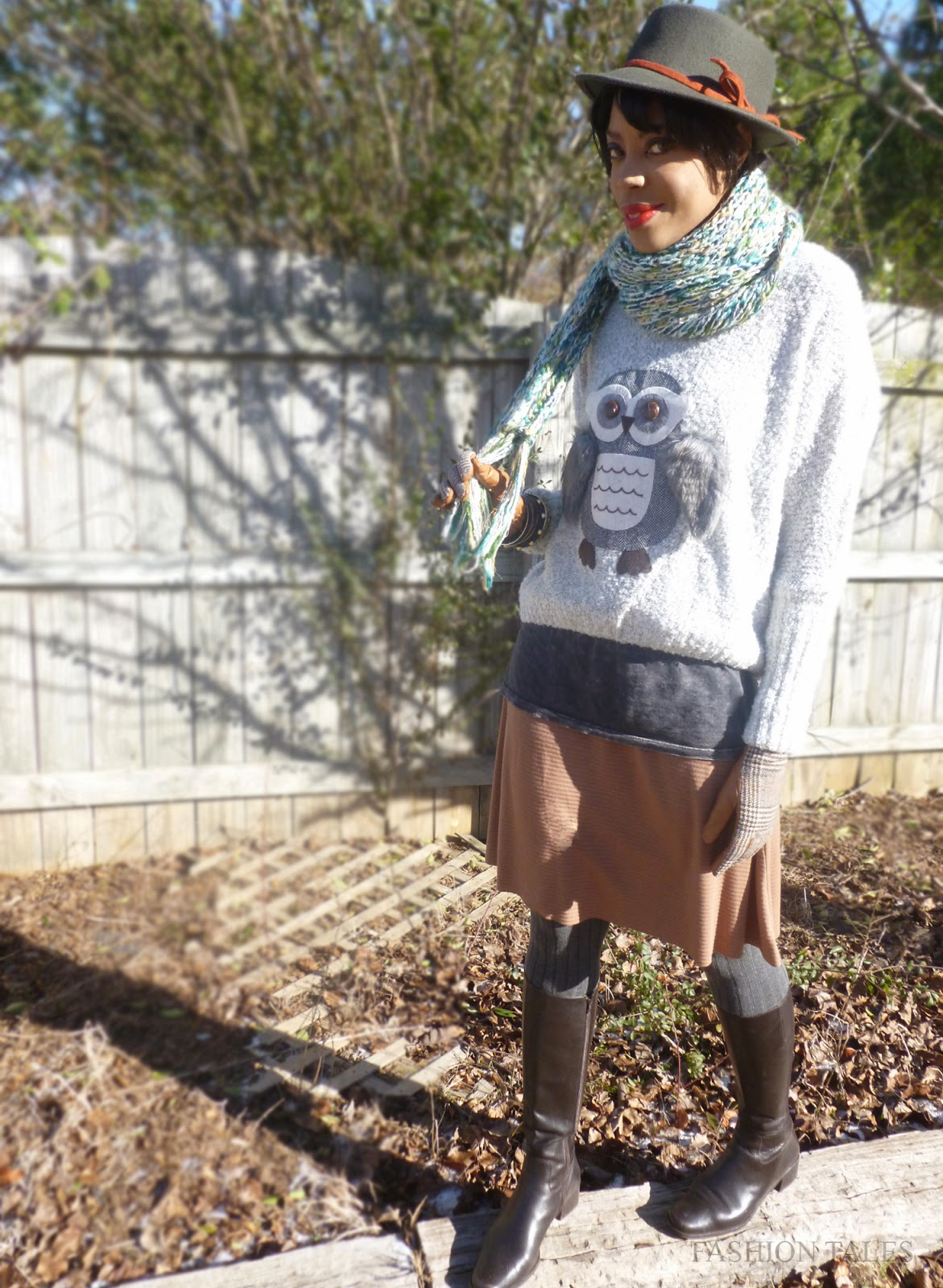 Style blogger winter layering