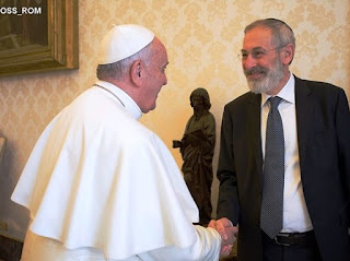 Papa visita a Sinagoga de Roma este domingo