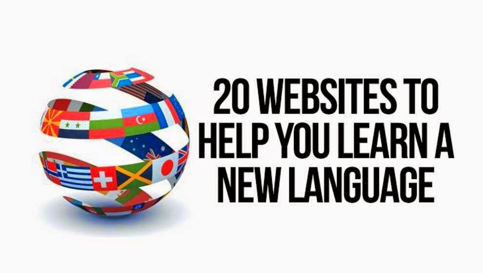 20 websites to help you learn a new language