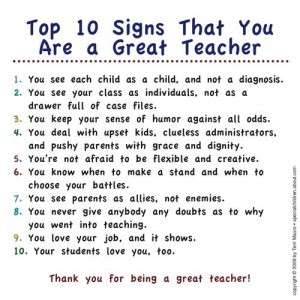 Essay on being a good teacher