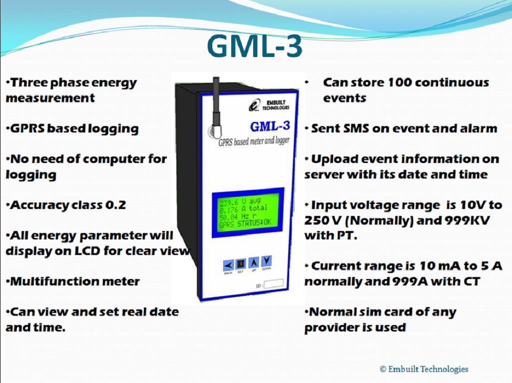 Energy Management System : Case study of gprs based energy management system power