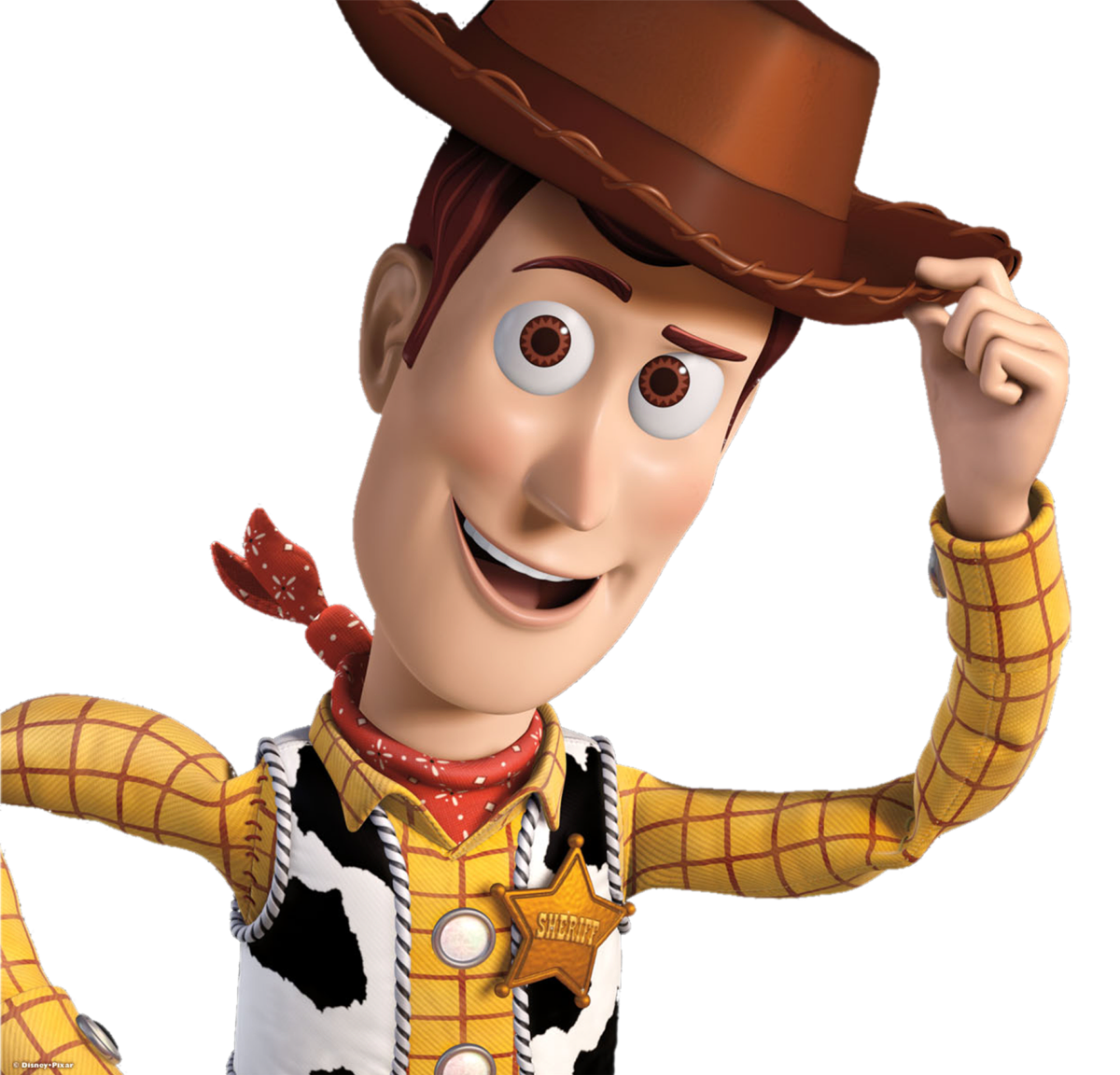 Woody on image to print