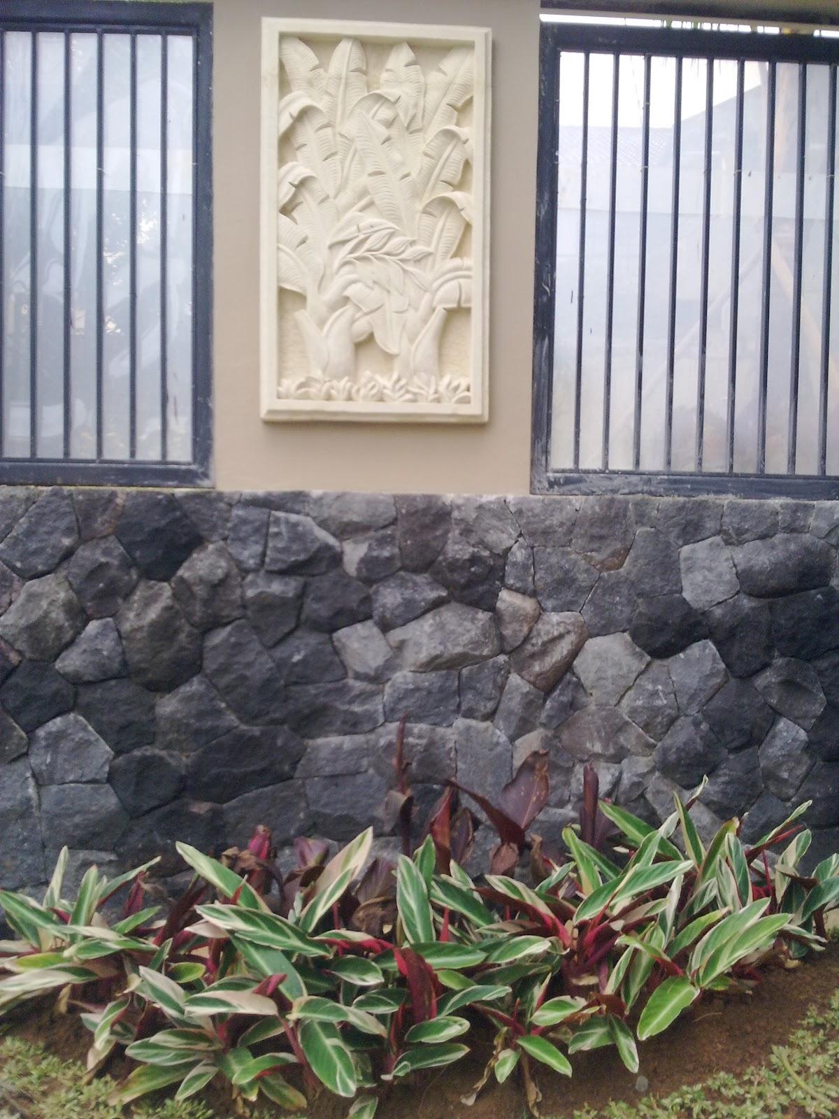 contoh batu alam untuk rumah anda renovation rumah2u