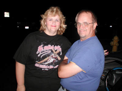 My brother Danny and I.  July 2007