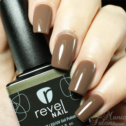 Revel Nail Gel Polish Roast Swatch