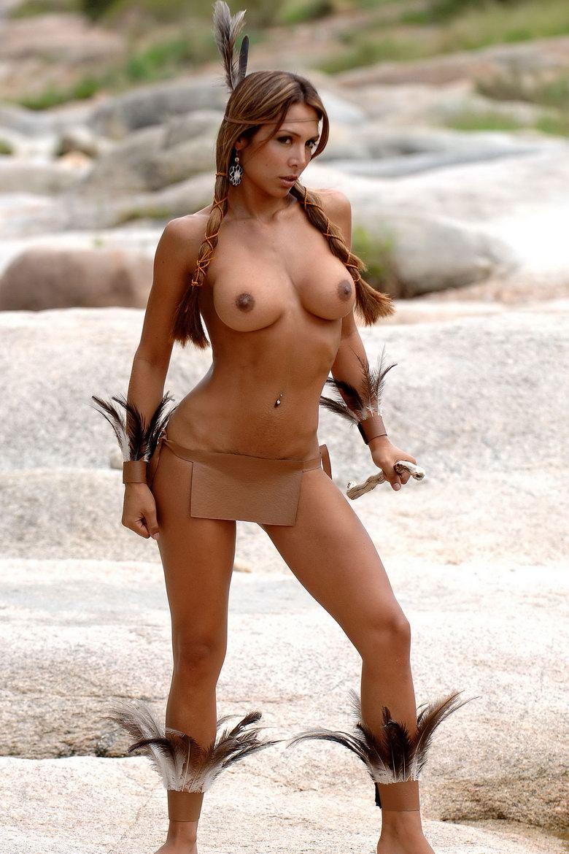 Обнаженные Красивые Индейки