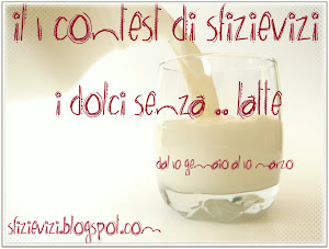 "Il mio Contest ""I Dolci senza .. latte"""