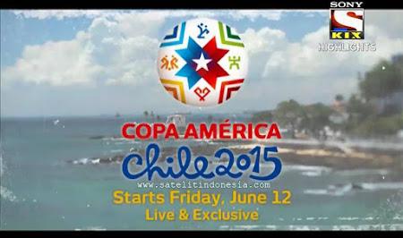 Siaran TV yang menayangkan Copa America 2016