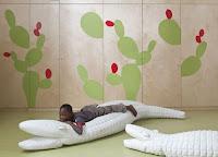ha diseado este jardn de infancia de telaviv del que se pueden tomar ideas para decorar una habitacin o cuarto de juegos
