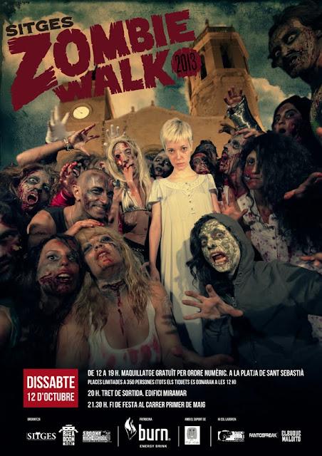 Festival de Sitges Zombie Walk 2013
