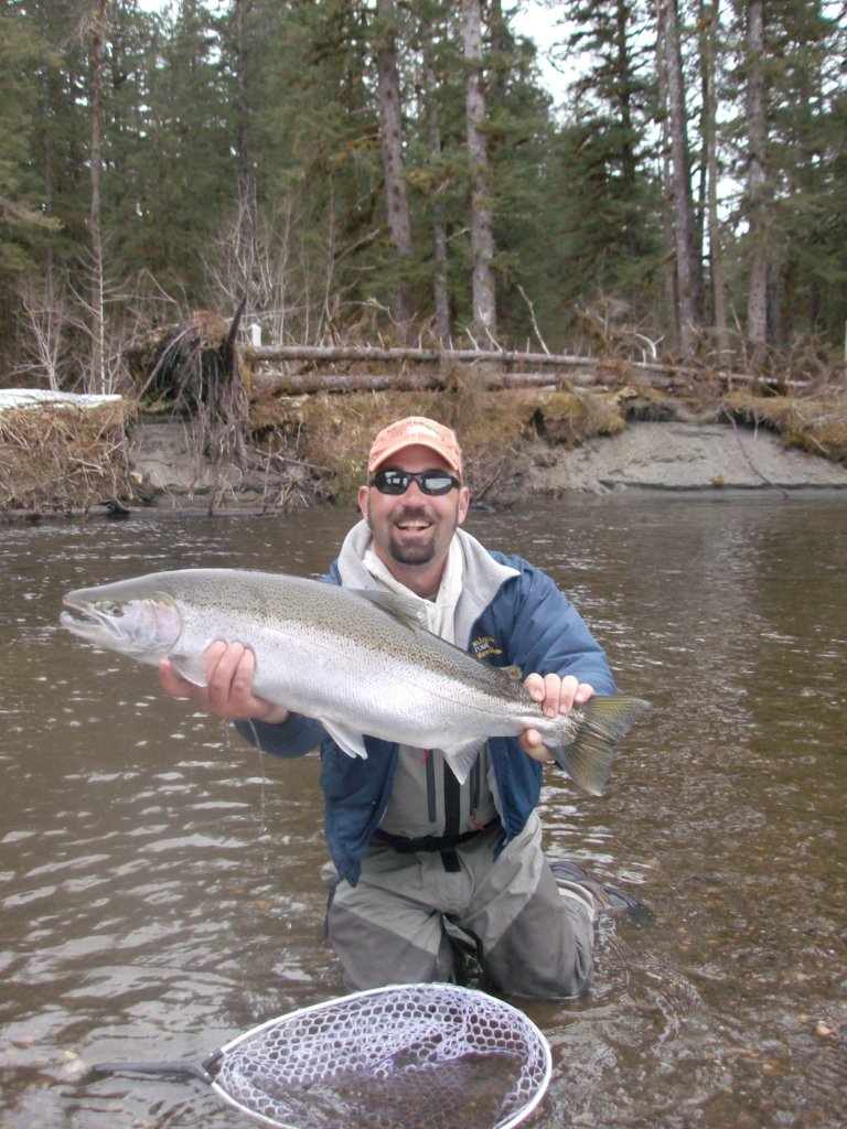 Fly fish oregon water time report situk river in alaska for Best time to fish in alaska